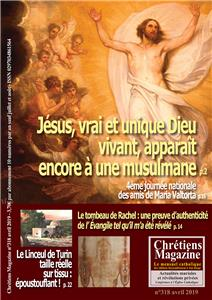 Lot de 10 Chrétiens Magazine  - Avril 2019