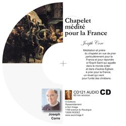 Chapelet médité pour la France - CD audio